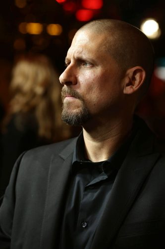 Director/Co-writer David Ayer seen at Open Road Film's Los Angeles Premiere of 'Sabotage,' on Wednesday, March 19, 2014 in Los Angeles. (Photo by Eric Charbonneau/Invision for Open Road Films/AP Images)