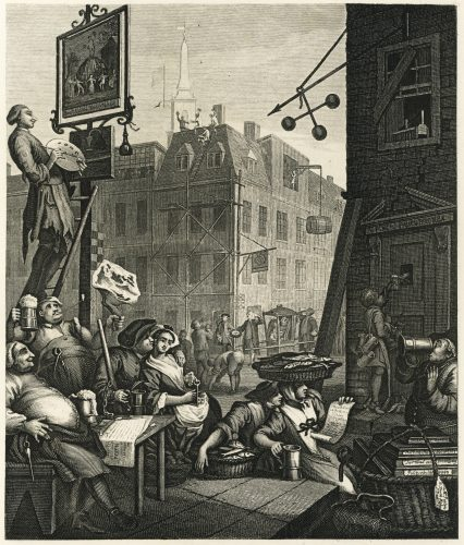 William Hogarth_Beer_Street